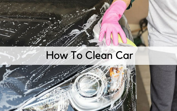 how to clean car