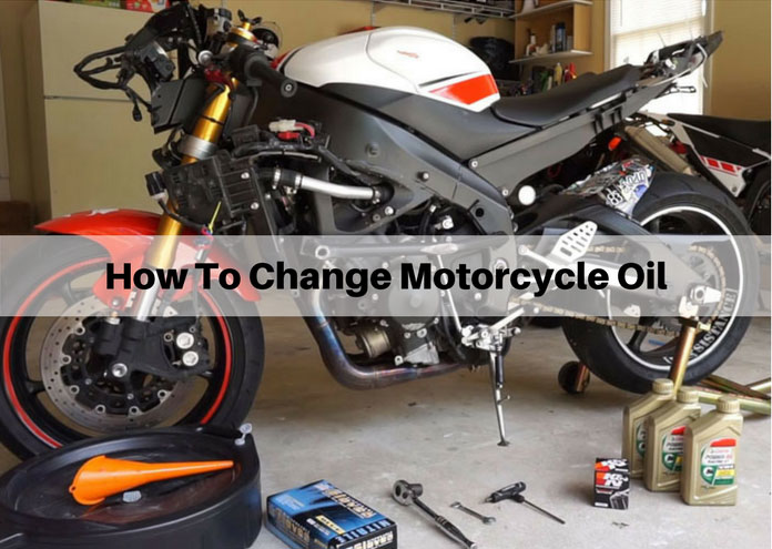 How To Change Motorcycle Oil