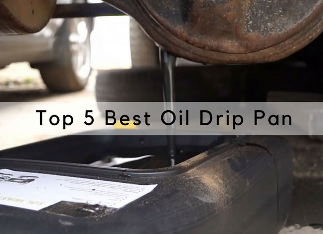 best oil drain pans